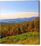 Autumn Mountains Canvas Print
