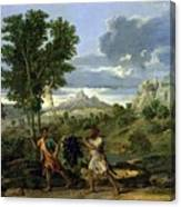 Autumn Nicolas Poussin Canvas Print