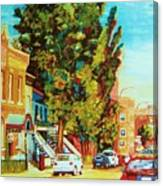 Autumn On Bagg Street Canvas Print