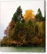 Autumn On The Columbia Canvas Print