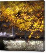Autumn On The Cove Canvas Print