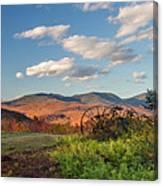 Autumn On The Farm Panorama Canvas Print