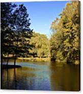 Autumn On The Lake Canvas Print