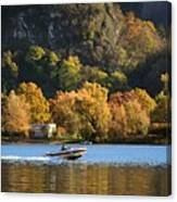Autumn On The Lake Canvas Print