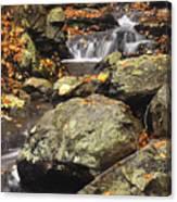 Autumn On The Rocks Canvas Print