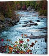 Autumn On Wilson Creek Canvas Print