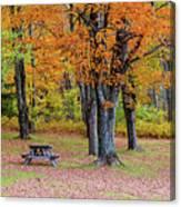Autumn Picnic Canvas Print