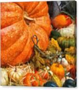Autumn - Pumpkin - All Of My Relatives Canvas Print