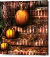 Autumn - Pumpkin - Three Pumpkins Canvas Print