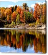 Autumn Reflected Canvas Print