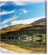 Autumn Reflection, Loch Long Canvas Print