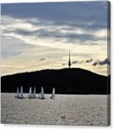 Autumn Regatta Canvas Print