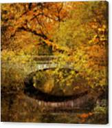 Autumn River Views Canvas Print