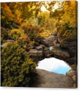 Autumn Rock Garden Canvas Print