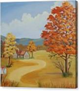 Autumn Season Canvas Print
