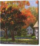 Autumn Shadow And Light Canvas Print
