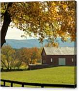 Autumn Shenandoah Barn Canvas Print