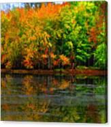 Autumn Sings Canvas Print