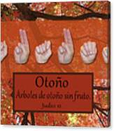 Autumn Spanish Canvas Print