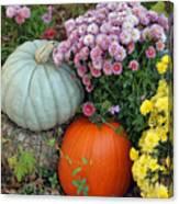 Autumn Still Life Canvas Print