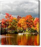 Autumn Storm Coming Canvas Print