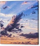 Autumn Sunrise 2 - Lyme Regis Canvas Print