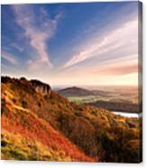 Autumn Sunset At Sutton Bank Canvas Print