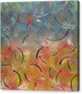 Autumn Swirl Canvas Print