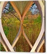 Autumn Symmetry Canvas Print