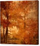 Autumn Tapestry - Lake Carasaljo Canvas Print