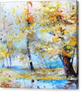 Autumn Tenderness Canvas Print