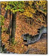 Autumn Trail - Rockyriver Metroparks Canvas Print