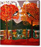 Autumn Trilogy Canvas Print