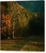 Autumn Tunnel Canvas Print