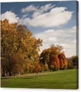 Autumn Under The Sky Canvas Print