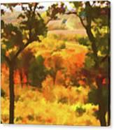 Autumn View, Montelle Winery, Augusta, Missouri Canvas Print