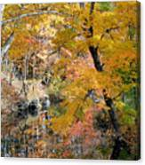 Autumn Vintage Landscape 6 Canvas Print
