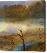 Autumn Wetlands Canvas Print