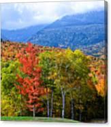 Autumn White Mountains Nh Canvas Print