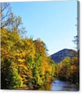 Autumn Williams River Canvas Print