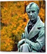 Autumn With Mr. Cooper Canvas Print