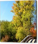 Autumnal North Bridge Canvas Print