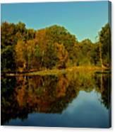 Autumnal Reflecion Canvas Print