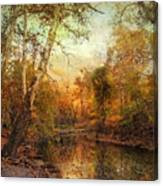 Autumnal Tones Canvas Print