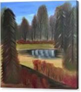Autumn's Arrival Canvas Print