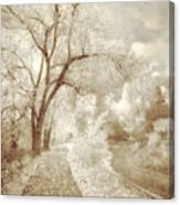 Autumn's Last Breath Canvas Print