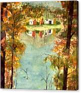 Autumn's Peaceful Abode  Canvas Print