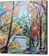 Autumn's Splendor Canvas Print
