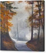 Autum's Mist Canvas Print