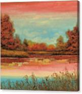 Autunno Sul Lago Canvas Print